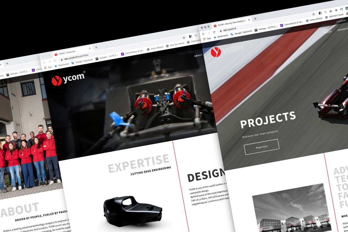 ycom news new website