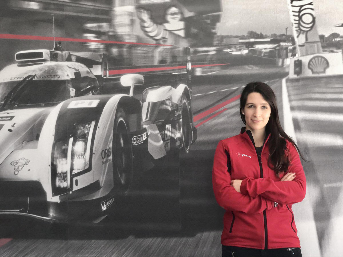 Girls in Motorsports! Interview with Margherita Carrer - YCOM Junior Structural Engineer
