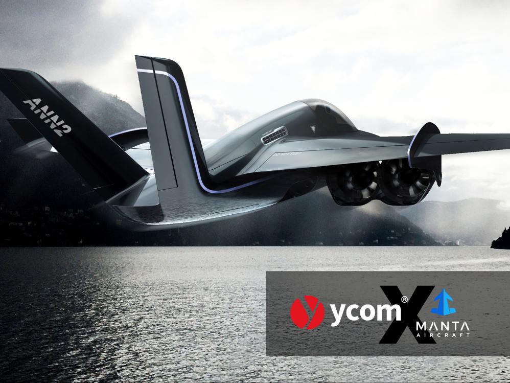 YCOM brings motorsport approach to Manta Aircraft's disruptive HeV/STOL aircraft